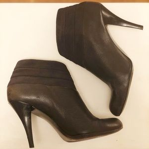 Black DKNY Booties with attitude.